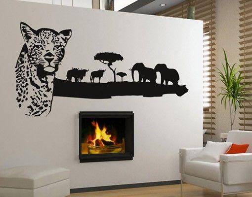 Wandtattoo Elefant No.BR222 African Wildlife