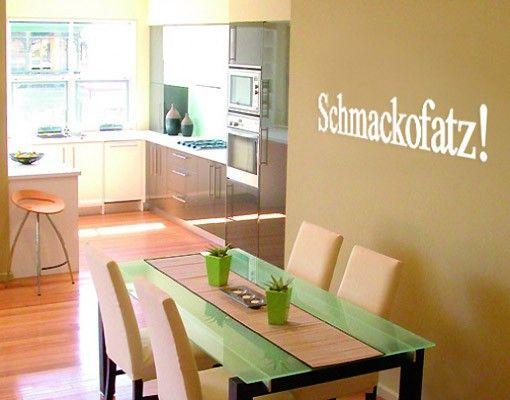 Wandtattoo Sprüche - Wandworte No.SF221 Schmacko