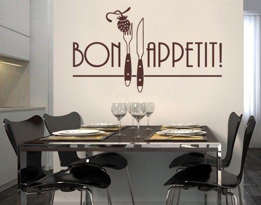 Wandtattoo Sprüche - Wandworte No.SF141 Bon Appetit