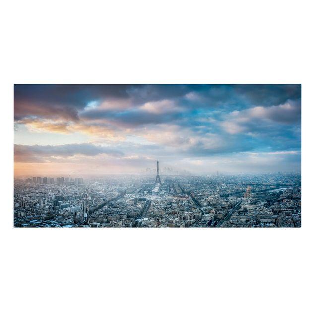 Leinwandbild - Winter in Paris - Querformat 2:1
