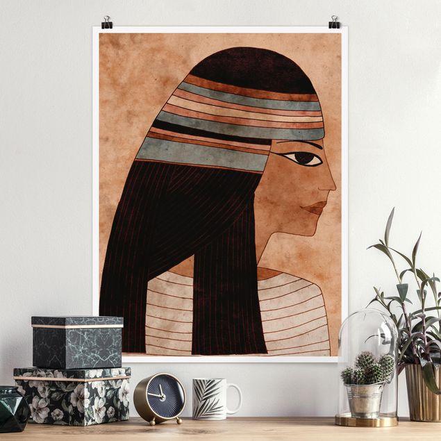 Poster - Cleopatra - Hochformat 3:4