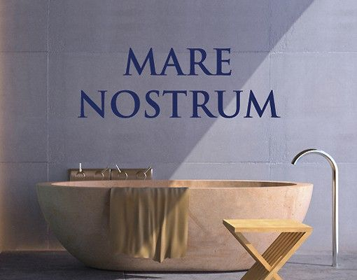 Wandtattoo Sprüche - Wandworte No.SF430 Mare Nostrum