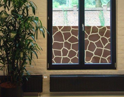 Fensterfolie - Sichtschutz Fenster Structure - Fensterbilder
