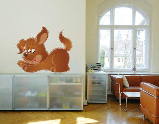 Wandtattoo Babyzimmer Hund No.28 Willi der Hund