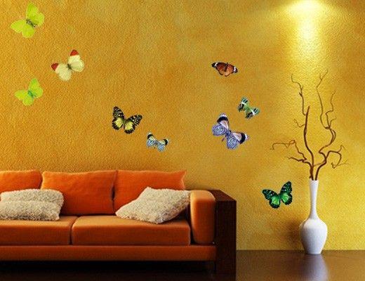 Wandtattoo Schmetterling No.32 Schmetterlinge Set1