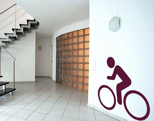 Wandtattoo No.364 Fahrrad