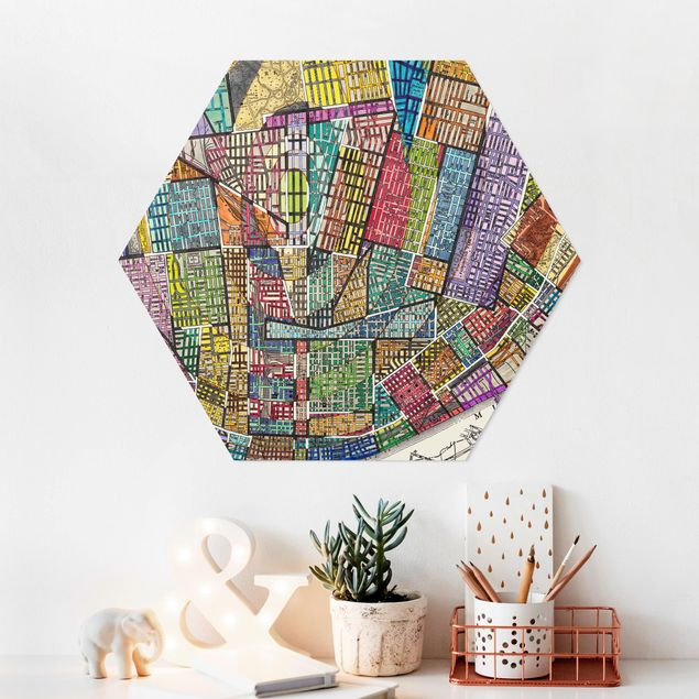 Hexagon Bild Forex - Moderne Karte von St. Louis