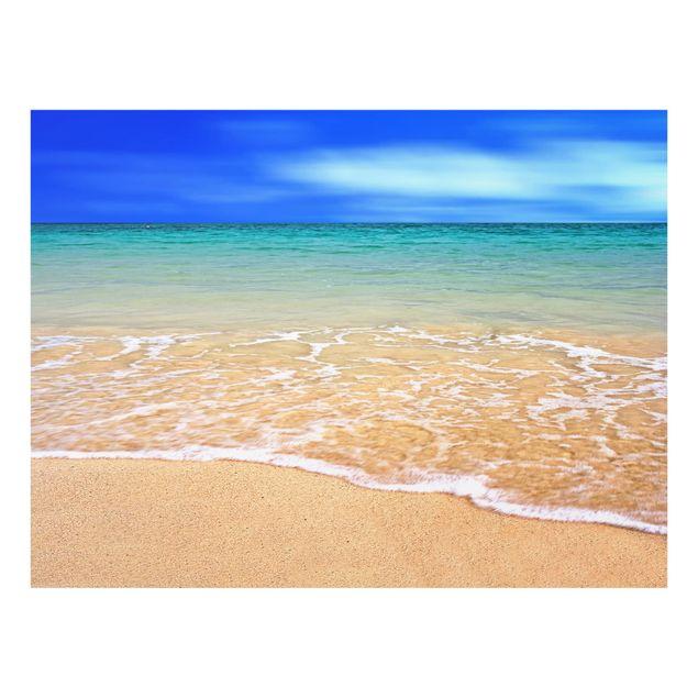 Glas Spritzschutz - Indian Ocean - Querformat - 4:3