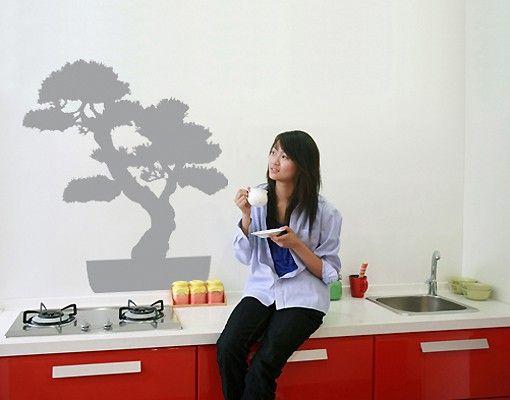 Wandtattoo Wald - Baum No.SF560 bonsai