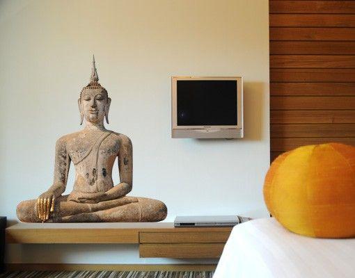 Wandtattoo No.SB100 Buddha in Thailand