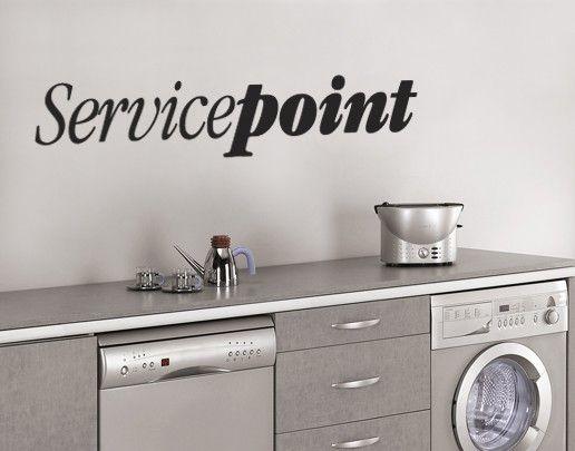 Wandtattoo Sprüche - Wandworte No.UL303 Servicepoint