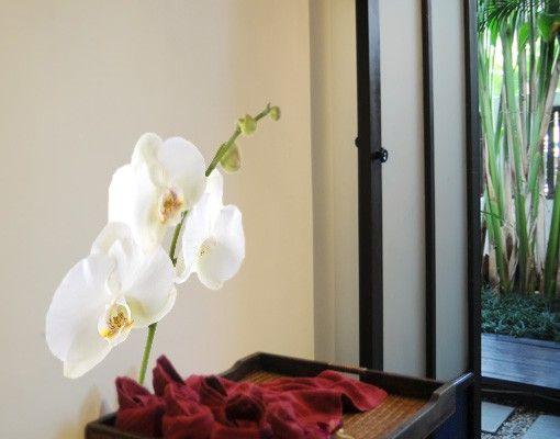 Wandtattoo Orchidee No.178 Orchidee Weiß I