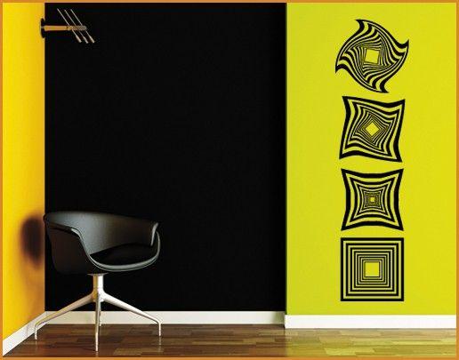 Wandtattoo No.SF606 OP Art long