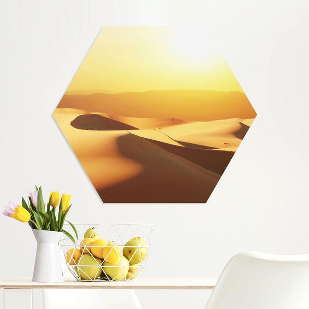 Hexagon Bild Forex - Die Wüste Saudi Arabiens