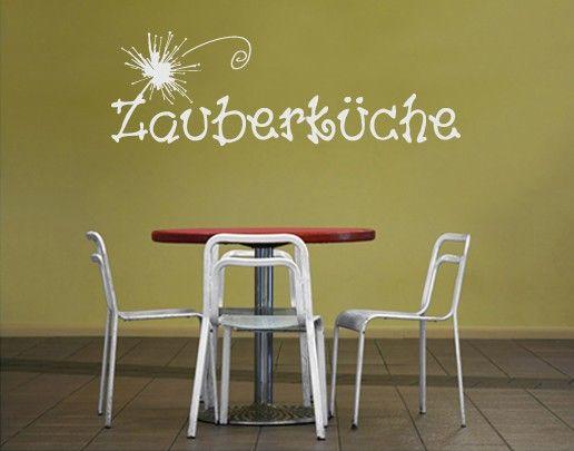 Wandtattoo Sprüche - Wandworte No.UL168 Zauberküche