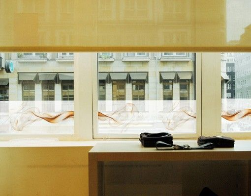 Fensterfolie - Sichtschutz Fenster Bordüre SoulOfLondon - Fensterbilder