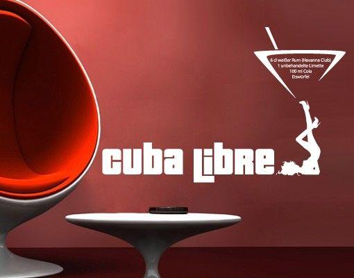 Wandtattoo No.716 Cuba Libre