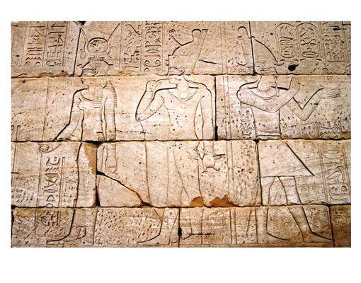Fensterfolie - Sichtschutz Fenster Egypt Relief - Fensterbilder