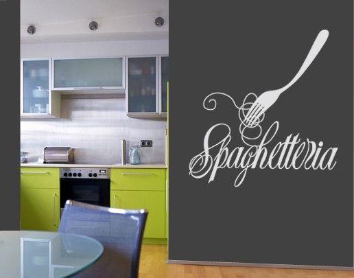 Wandtattoo Sprüche - Wandworte No.UL386 Spaghetteria