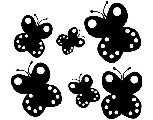 Wandtattoo Schmetterling No.UL425 Baby Schmetterling Set