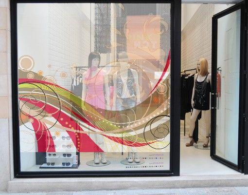 Fensterfolie - Sichtschutz Fenster December - Fensterbilder