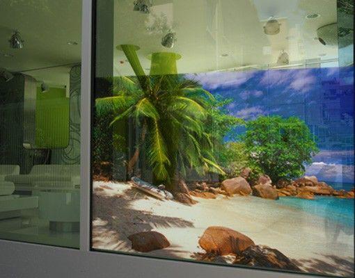 Fensterfolie - Sichtschutz Fenster Honeymoon in Hawai - Fensterbilder