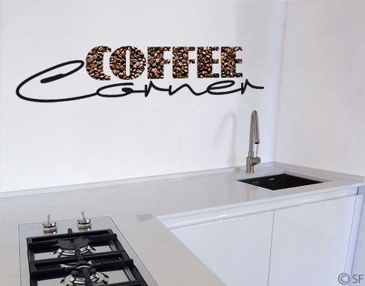 Wandtattoo Sprüche - Wandworte No.SF828 Coffee Corner