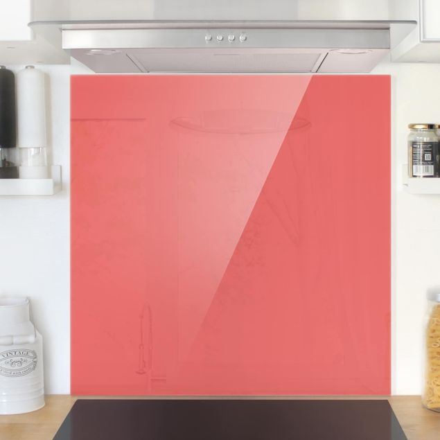 Glas Spritzschutz - Vermillion - Quadrat - 1:1