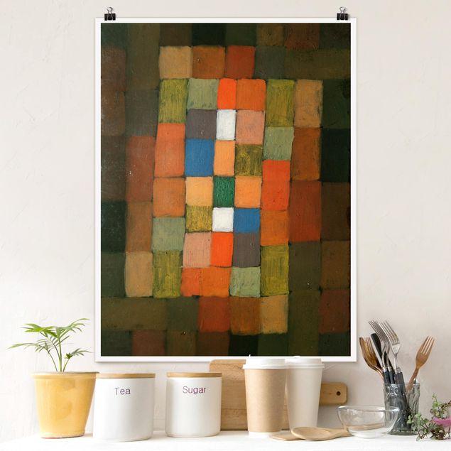 Poster - Paul Klee - Steigerung - Hochformat 3:4