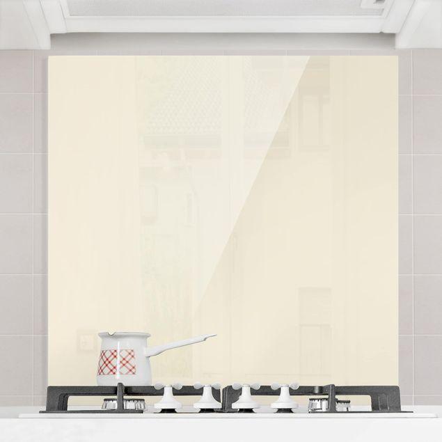 Glas Spritzschutz - Kaschmir - Quadrat - 1:1