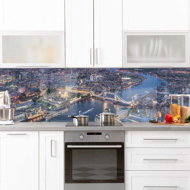 Küchenrückwand - Nachts in London