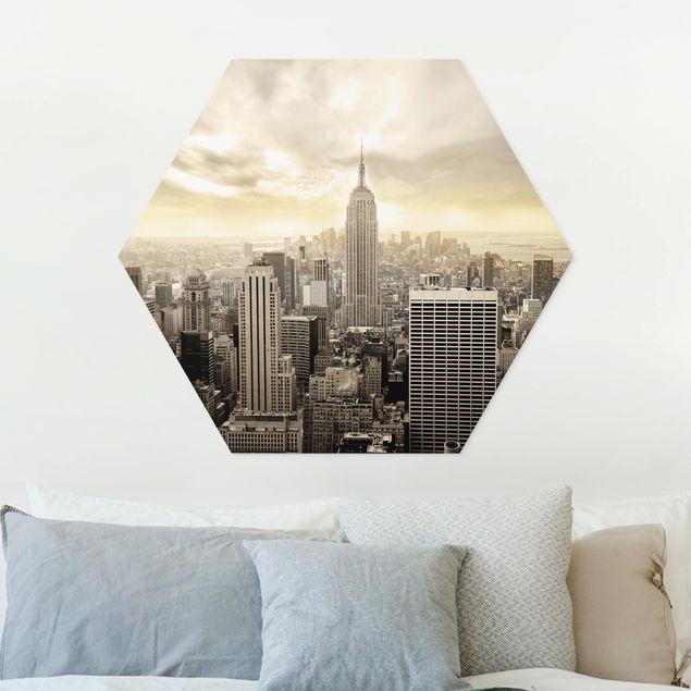 Hexagon Bild Forex - Manhattan Dawn