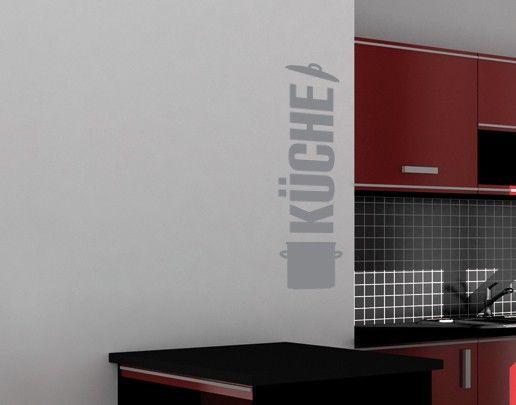 Wandtattoo Sprüche - Wandworte No.UL525 Küche