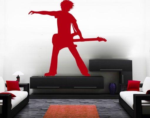 Wandtattoo No.CA8 The Guitarist