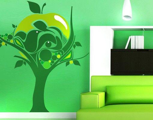 Wandtattoo Floral No.TA44 Apple Tree