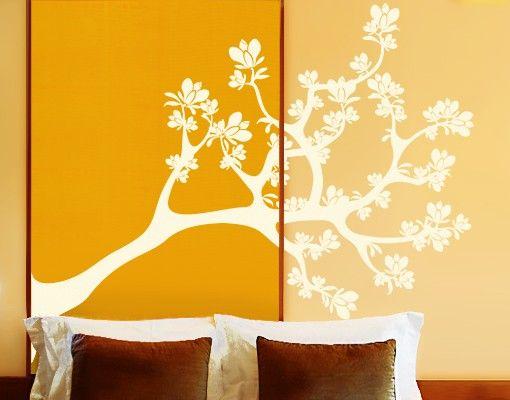 Wandtattoo Magnolie Baum No.IS30 Magnolien