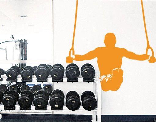 Wandtattoo Kinderzimmer No.FB5 Athlet