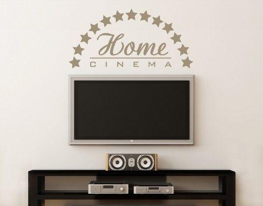 Wandtattoo Sprüche - Wandworte No.UL73 Home Cinema