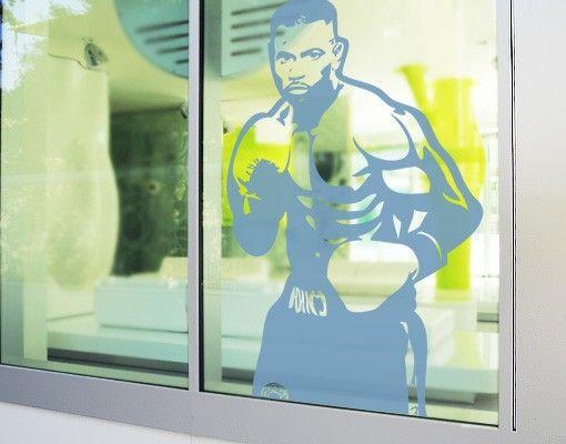 Fensterfolie - Fenstertattoo No.EG6 Boxer - Milchglasfolie