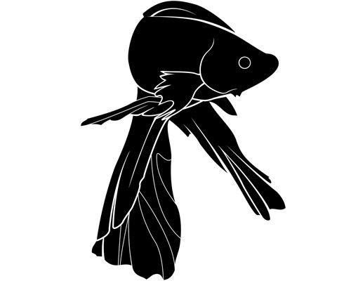 Wandtattoo No.IS32 Siamesischer Kampffisch