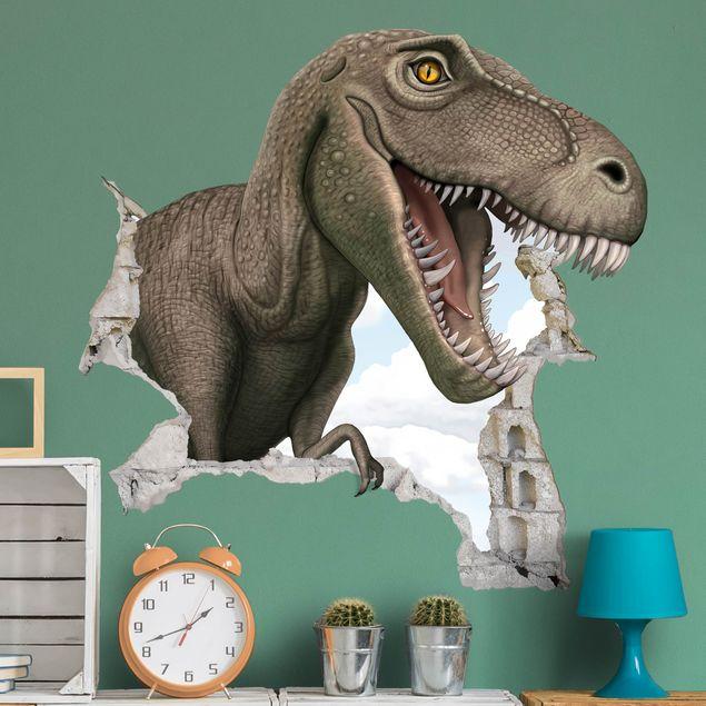 Wandtattoo - Dinosaurier T - Rex