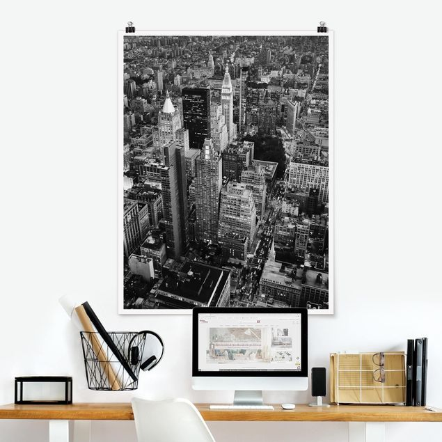 Poster - Big Apple II - Hochformat 3:4