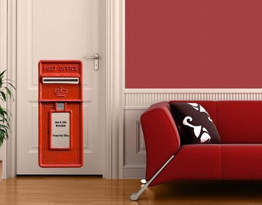 Wandtattoo No.580 Wunschtext Post Office