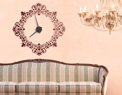 Wandtattoo Uhr No.CG159 Renaissance