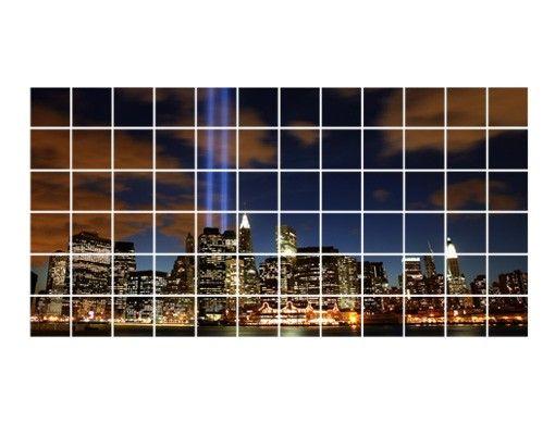 Fliesenbild - Tribute To The Lights