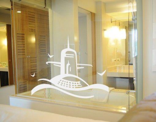 Fensterfolie - Fenstertattoo No.UL681 U-Boot - Milchglasfolie