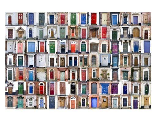 Fensterfolie - Sichtschutz Fenster 100 Türen - Fensterbilder