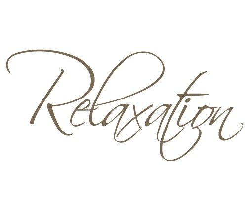 Wandtattoo Sprüche - Wandworte No.EK109 Relaxation