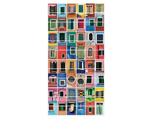 Fliesenbild - Fenster der Welt