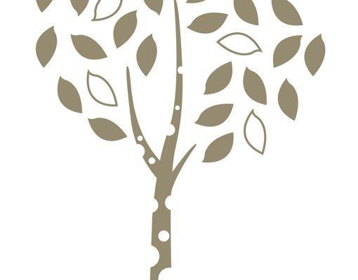 Wandtattoo Wald - Baum No.MW92 Einsames Bäumchen